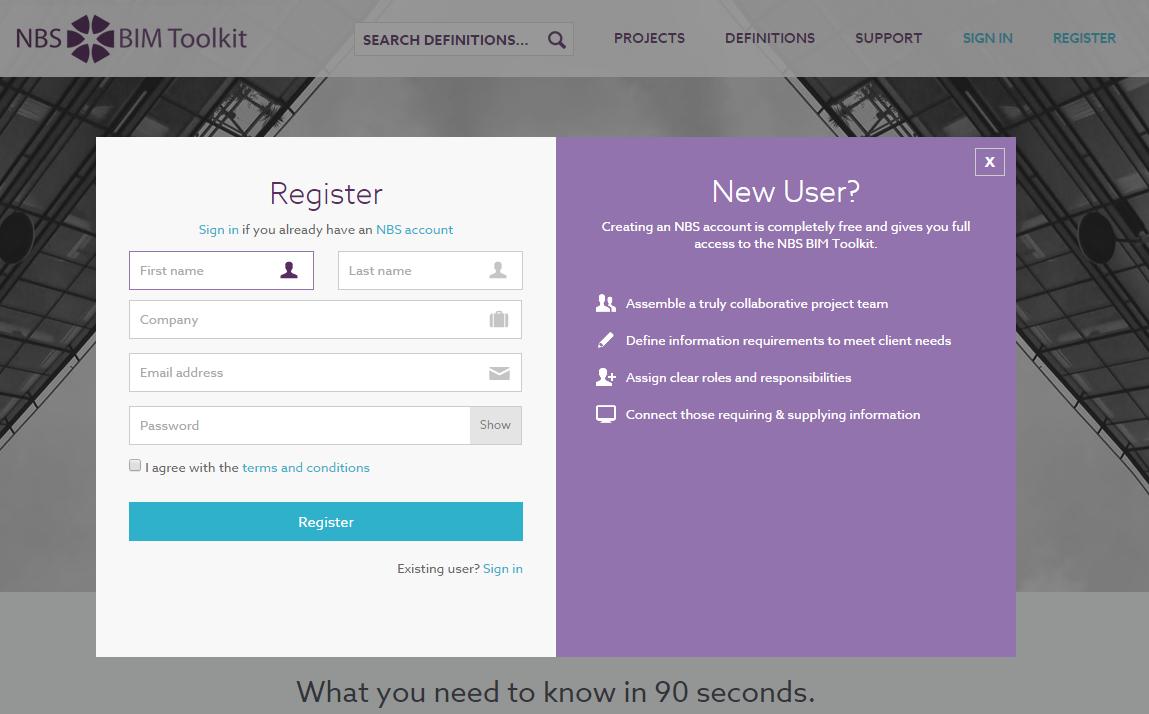 Register Modal